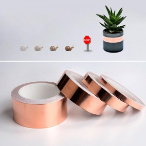 Defenders Slug And Snail Barrier made from Conductive Copper Foil Tape