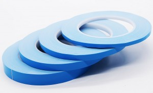 Fiberglass Thermal Conductive Tape for Heat Sink pad of LED, LCD, CPU etc