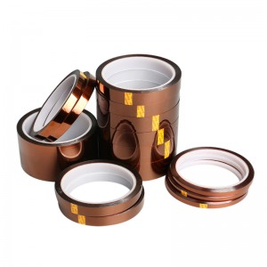 Heat Resistant Kapton Polyimide Tape Used for High Temperature Application