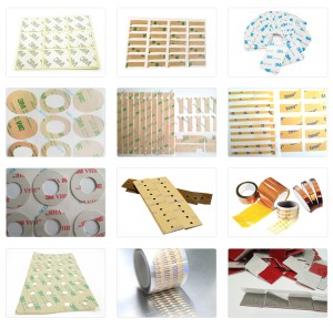 Die cutting 3M F9469PC VHB Adhesive Transfer Tape for Flexible PCB Fins Heat Sink