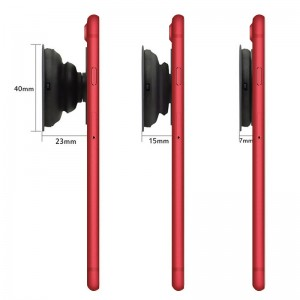 Expanding Phone Stand and Collapsible Grip for Smartphones and Tablets